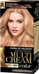 Joanna multi cream color, farba do włosów, 30 karmelowy blond