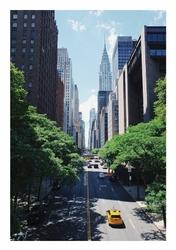 Empire state building - plakat Wymiar do wyboru: 50x70 cm
