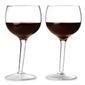 zestaw pochylone kieliszki do wina 2 szt. 300 ml