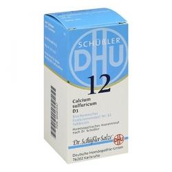 Biochemie dhu 12 calcium sulfur.d 3 tabl.