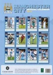Manchester city - kalendarz 2012 r.