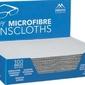 Ściereczka z mikrofibry do okularów - szara - premium