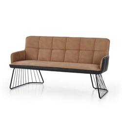 Dover sofa loftowa jasny brązczarny