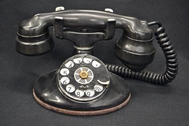 Fototapeta na ścianę czary stary telefon fp 4994