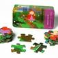 Puzzle the purple cow - kapturek 35 el.