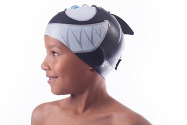 Shepa płetwa kids czepek silikonowy b1