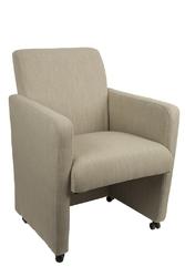 Fotel luxury - lniany