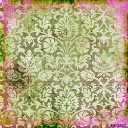 Naklejka samoprzylepna koronkowy retro tło