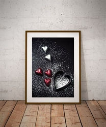 Sweet love - plakat wymiar do wyboru: 50x70 cm