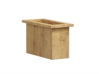 Nowoczesna komoda box z szafką box steel  szer. 100 cm