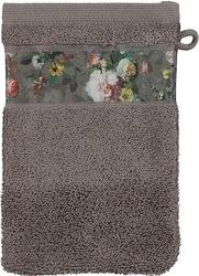 Rękawica kąpielowa fleur taupe