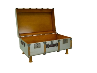 Authentic models kuferstolik stateroom, srebrny mf040s