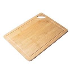 Duża deska kuchenna do krojenia bambusowa z uchwytem