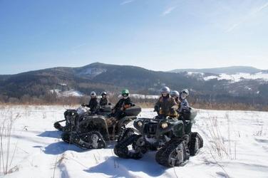 Wycieczka śnieżnym quadem - wrocław