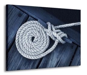 Lina na łodzi - obraz na płótnie