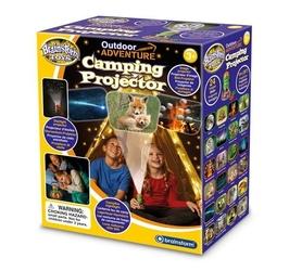 Lampka nocna i projektor slajdów adventure
