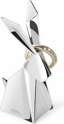 Stojak na pierścionki Origami królik