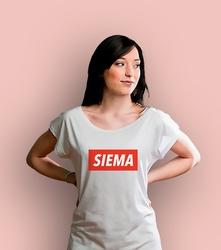 Siema t-shirt damski biały xxl