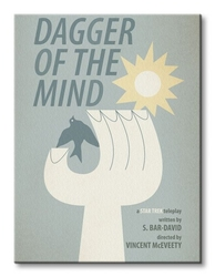 Star trek dagger of the mind - obraz na płótnie