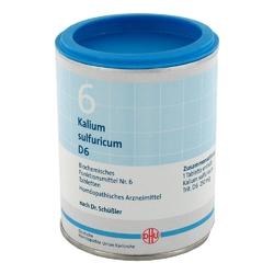 Biochemie dhu 6 kalium sulfur.d 6 tabl.
