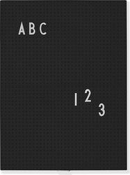 Tablica design letters a4 czarna
