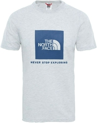 T-shirt męski the north face raglan red box t93bqocej