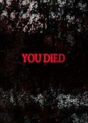 Dark souls - you died - plakat