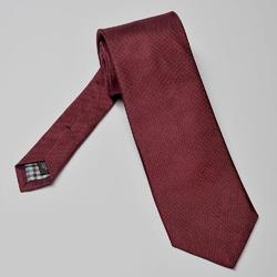 Elegancki długi bordowy krawat jedwabny hemley