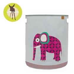 Pojemnik kosz na zabawki wildlife słoń