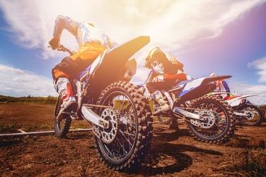 Fototapeta motocross 3855