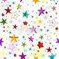 Obraz na płótnie canvas wzór labirynt kolorowych gwiazd