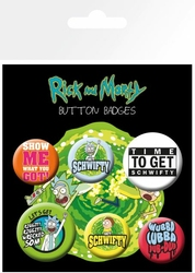 Rick and Morty Quotes - przypinki