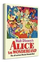 Alicja w krainie czarow tea party - obraz na płótnie