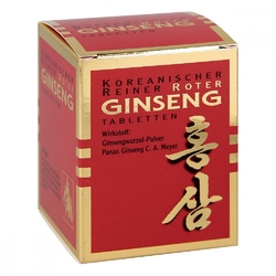 Roter ginseng tabletten 300 mg