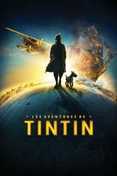 Tintin - Globe Teaser French - plakat
