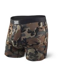 Bokserki męskie saxx vibe boxer modern fit - camo