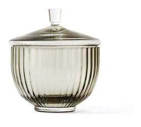Bomboniera Lyngby szklana Smoke 8 cm