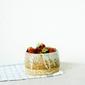 Fototapeta mała miska z truskawkami fp 960
