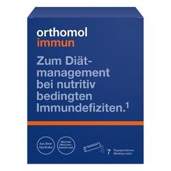 Orthomol immun granulki na język, smak malinamentol