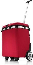 Koszyk na kółkach carrycruiser iso red