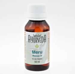 Kojący olejek do masażu kręgosłupa kundalini meru oil 50 ml santulan