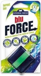 General fresh, blue force, leśna, kostka do spłuczki,  1 sztuka