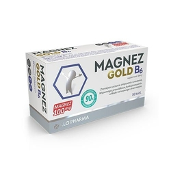 Alg pharma magnez gold b6 50 tabs
