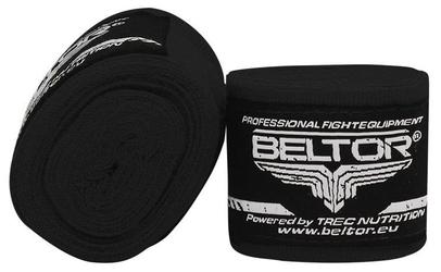 Beltor bandaż bokserski elastyczny czarny