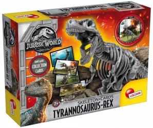 Jurassic World Szkielet Dinozaura T-Rex plus karty