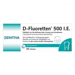 D-fluoretten 500 tabletki