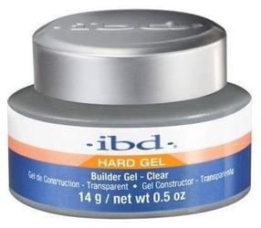 Hard builder gel leduv żel budujący clear 14g