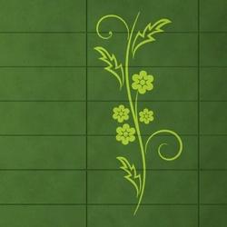 kwiaty 1227 szablon malarski