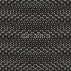 Obraz na płótnie canvas czteroczęściowy tetraptyk orientalne fale wzór
