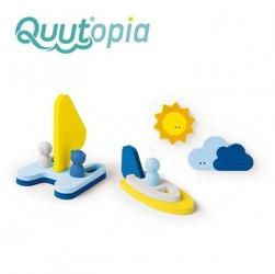 Quut zestaw puzzli piankowych 3d quutopia przygoda na wodzie